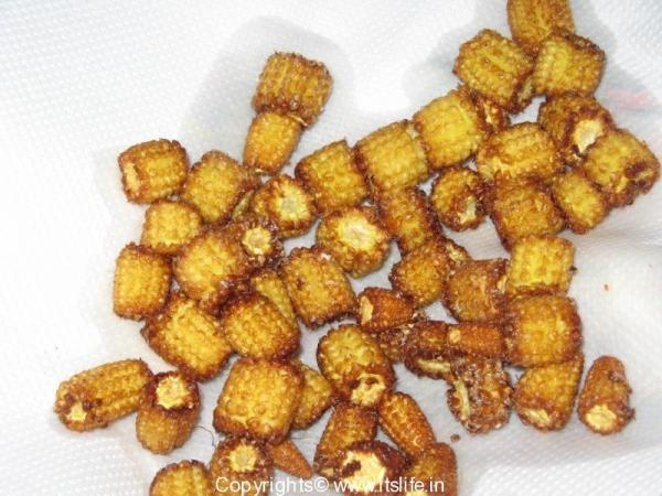 Baby Corn Tava Masala