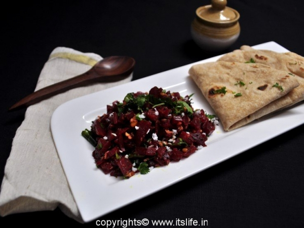 how to cook beetroot leaves in indian style