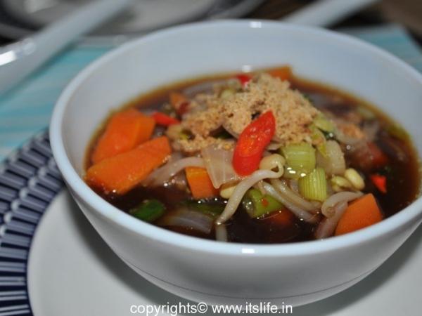 Korean Bean Sprouts Soup
