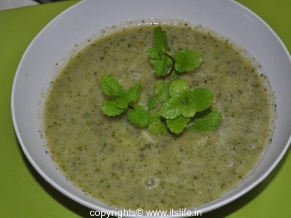 Cool Cucumber Mint Soup