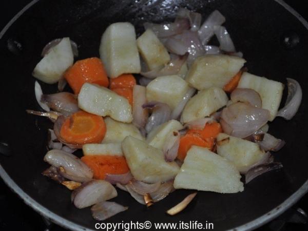 Sweet Potato and Onion Soup