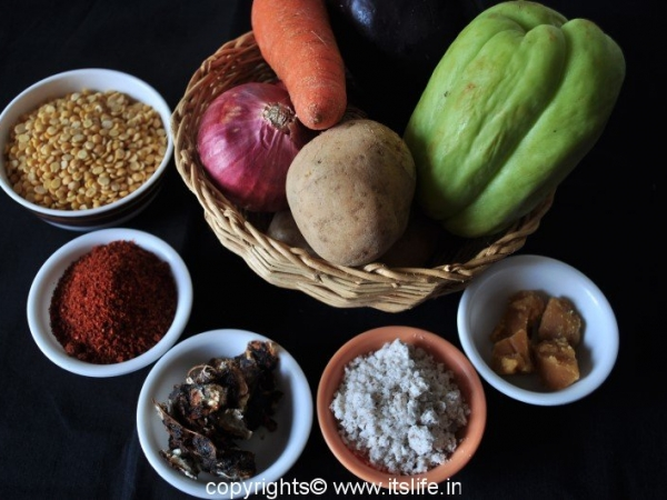 Huli ingredients