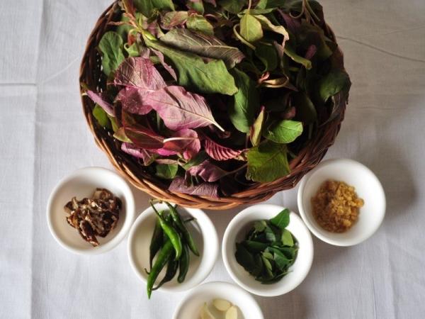 Amaranthus Leaves Curry