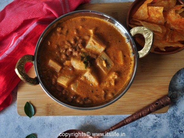 Cow Peas Sambar Recipe