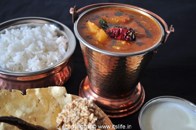 Huli Recipe | Brahmin's Recipe | Sambar Recipe | Madhwa Recipe