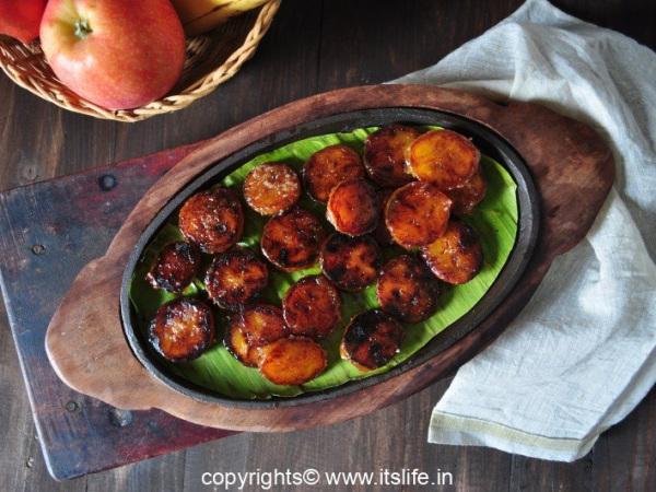 Glazed Kerala Banana