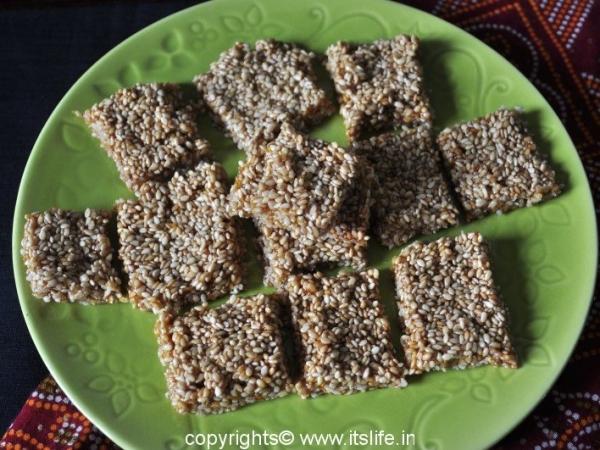 Sesame Seeds Squares