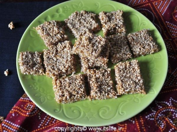 Sesame Seeds Burfi