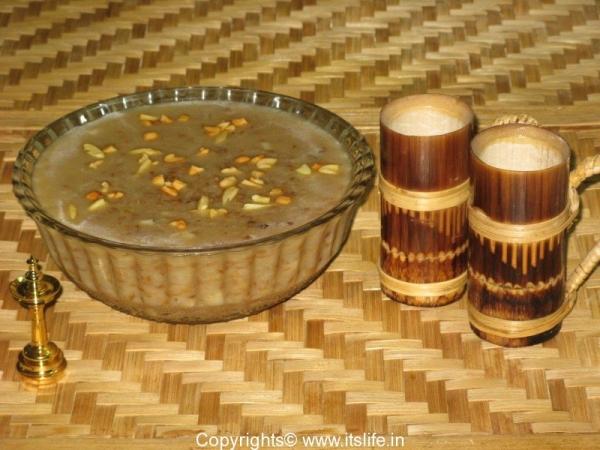 Bamboo Rice Payasam