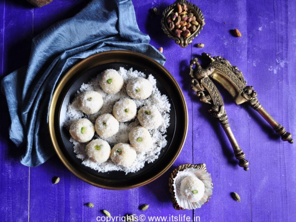 Nariyal Laddoo Recipe