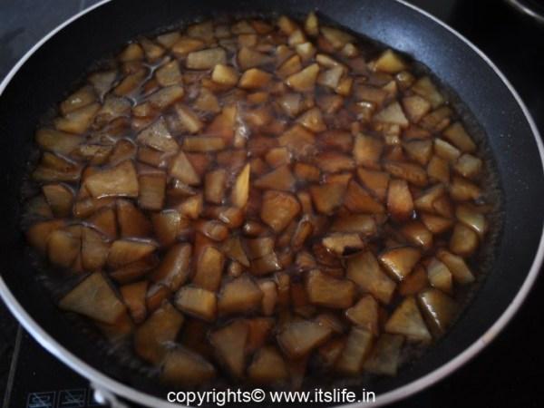 Sweet Potato Sweet dish