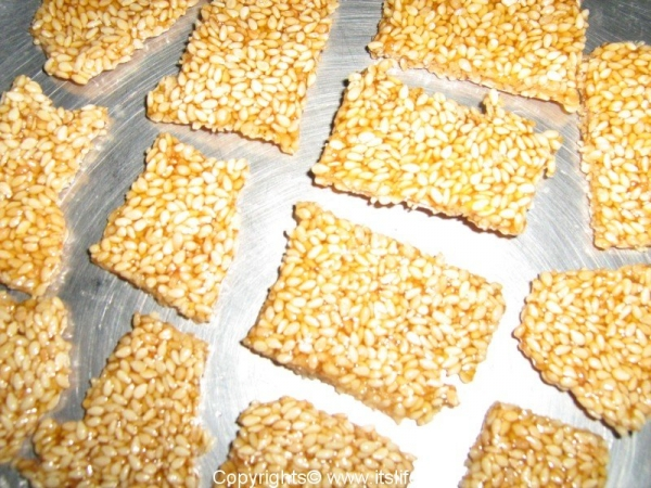Sesame Seeds Bar