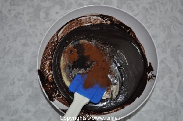 Eggless Walnut Brownie