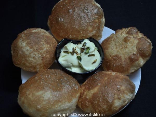 Shrikhand Poori