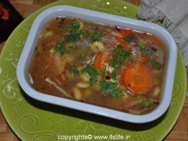 Hot and Sour Vegetables