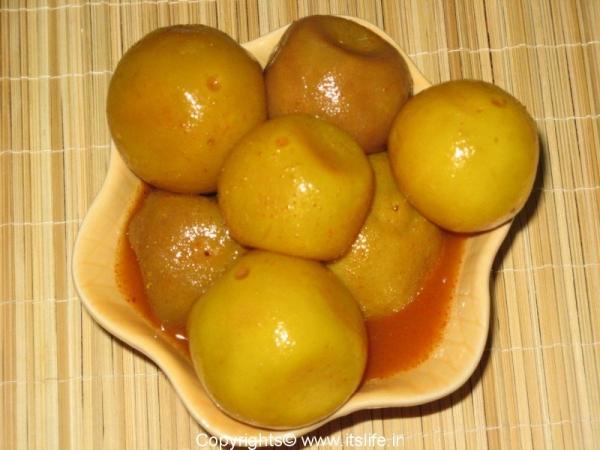 Whole Lemon Pickle