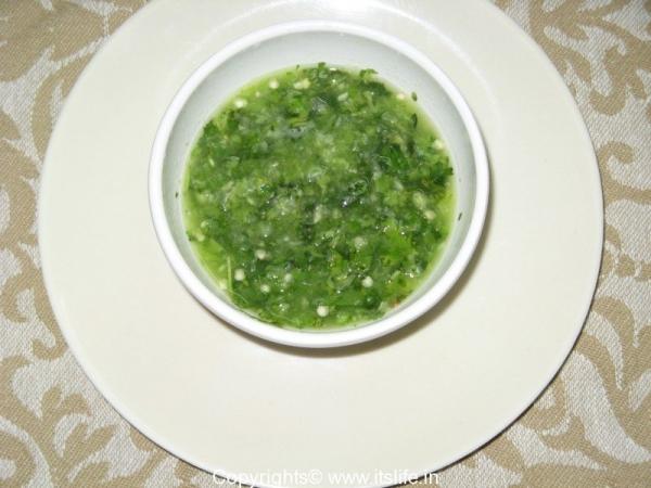 Green Chili Sauce