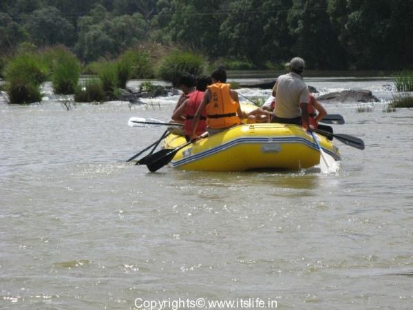 Dubare River Rafting