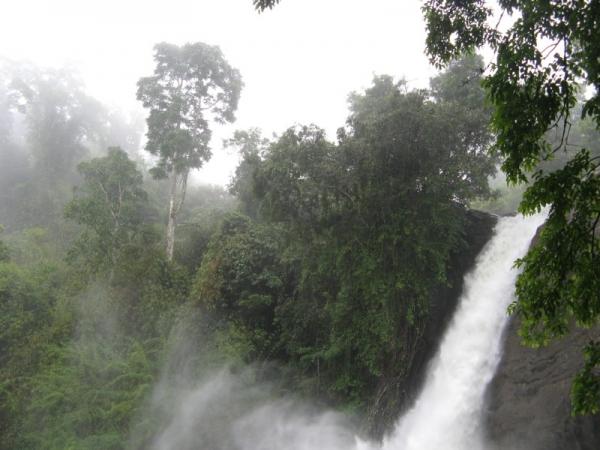 Sentinel Rock Waterfalls