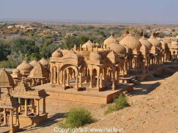 Chhatris, Jaisalmer