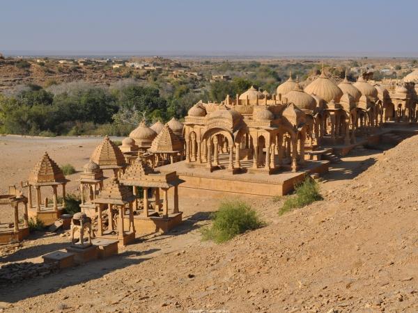 Royal Cenotaphs, Jaisalmer
