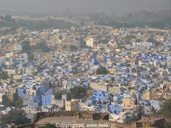 Blue City, Jodhpur, Rajasthan