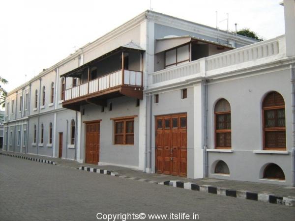 Aurobindo Ashram Dining Hall