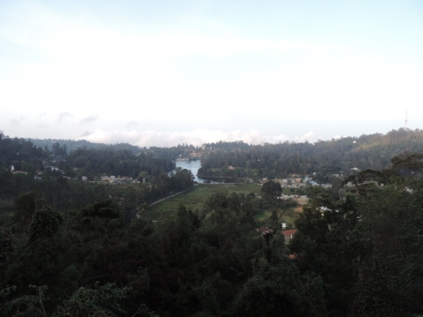 Upper Lake View Point - Kodaikanal
