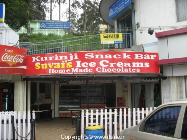 Shopping and eating out in Ooty