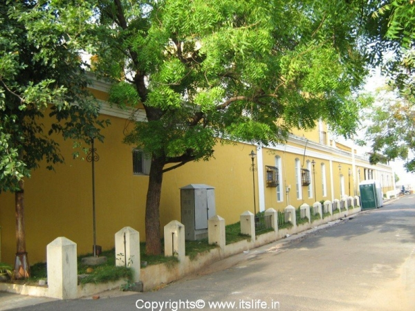 French Quarter of Pondicherry