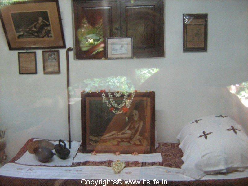 Sri Ramana Ashram Sri Ramana Maharshi Was Born