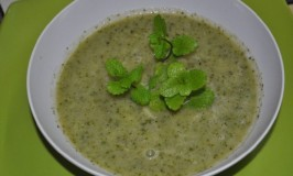 Cool Cucumber Mint Soup