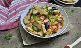 Fruit and Alu Chaat