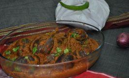 Yennegai Palya – Stuffed Brinjals / Aubergine / Eggplant