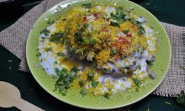Alu Tikki Chaat – Potato Patties with Tangy Spicy Sauce
