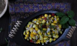 Sweet Corn and Mint Chat