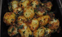 Baby Potatoes Fry