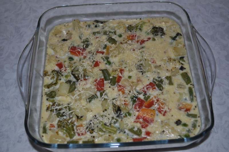Vegetable Au Gratin | Casserole Recipe | Continental Recipe ...