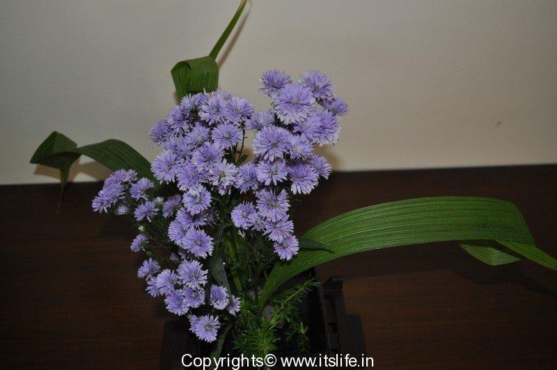 Ikebana flower arrangement hobbies for Do it yourself flower arrangements