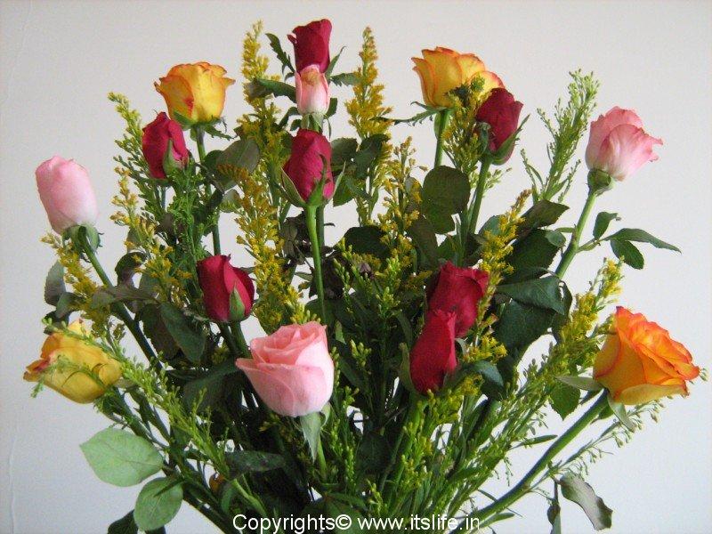 flower arrangement  freestyle arrangement  hobby, Natural flower