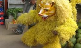 Huli Vesha during Dasara
