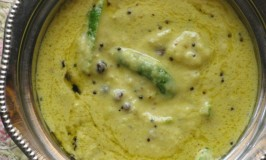Bayisida Mavinakayi Gojju – Mango Curry