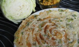 Cabbage Dosa