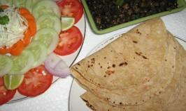 Phulka – Plain Indian Bread