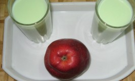 Green Apple Milk Shake