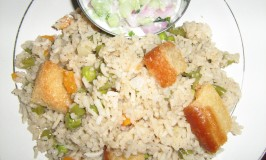 South Indian Vegetable Pulao