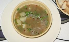 Peas and Potato Soup