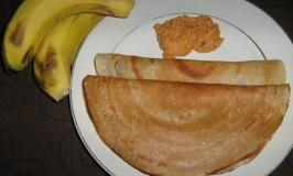 Balehannina (Banana) Dosa