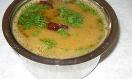 Menasina Saaru – Pepper Rasam – Pepper Lentil Soup