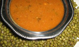 Hesarukalu Saaru – Whole Green Gram Rasam – Moong Rasam